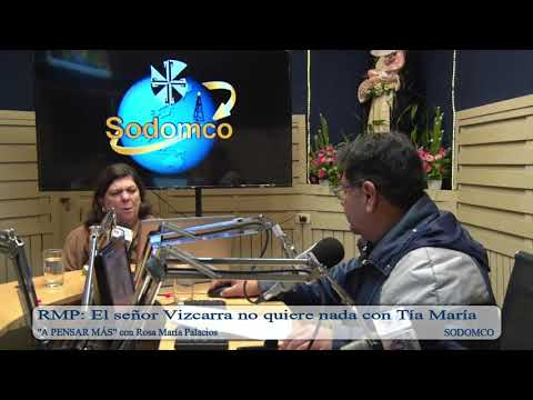 RMP: El señor Vizcarra no quiere nada con Tía María