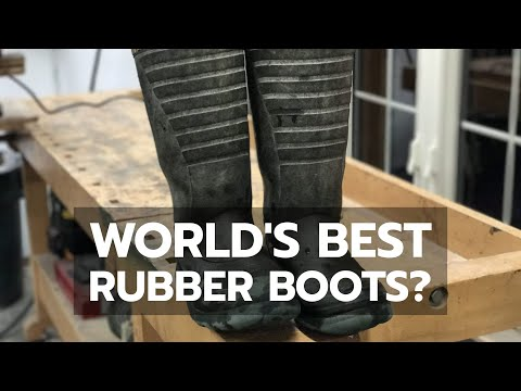 World's Best Rubber Boots - 5 Years Later