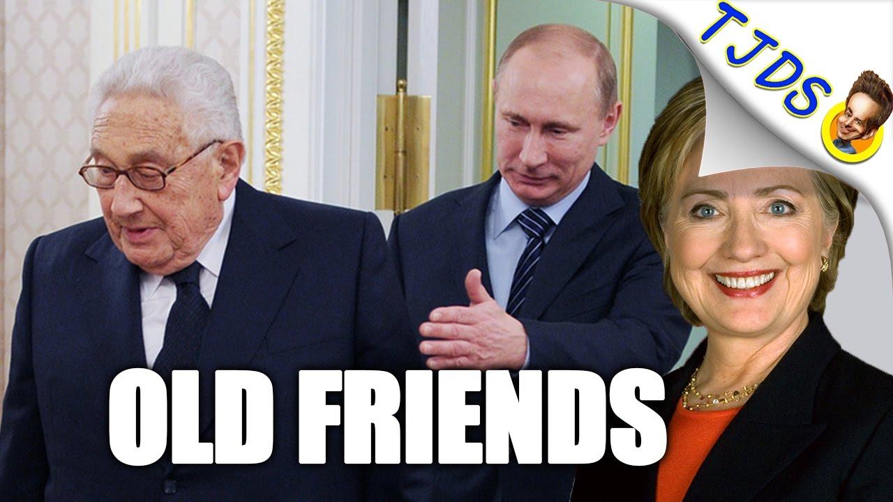 Resultado de imagen de Putin y Hillary Clinton y Kissinger