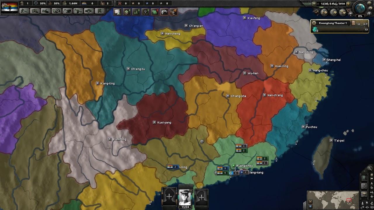 Hearts of Iron 4 Mod Spotlight(44): Warlord Era China