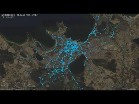 Tracking Cyclists with Endomondo in Tallinn