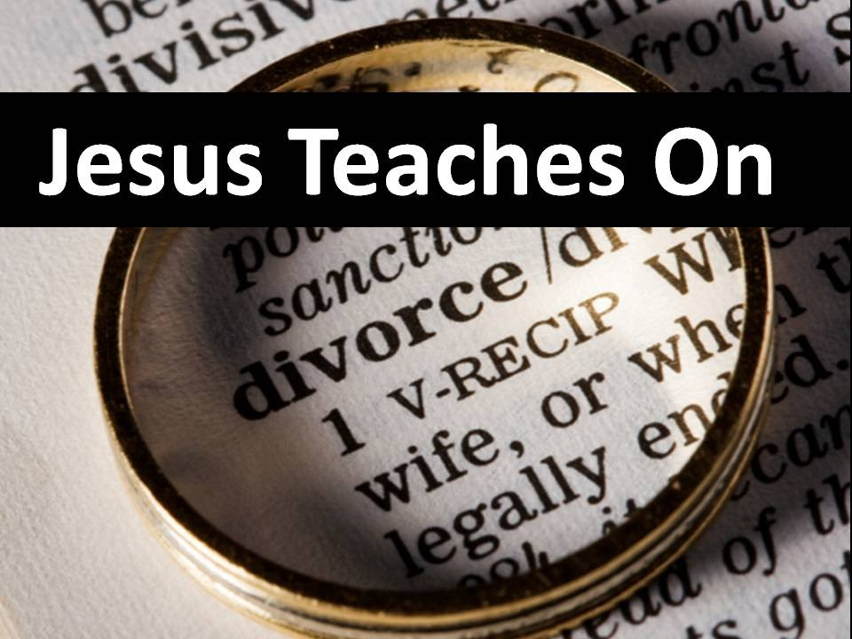 Jesus on Divorce