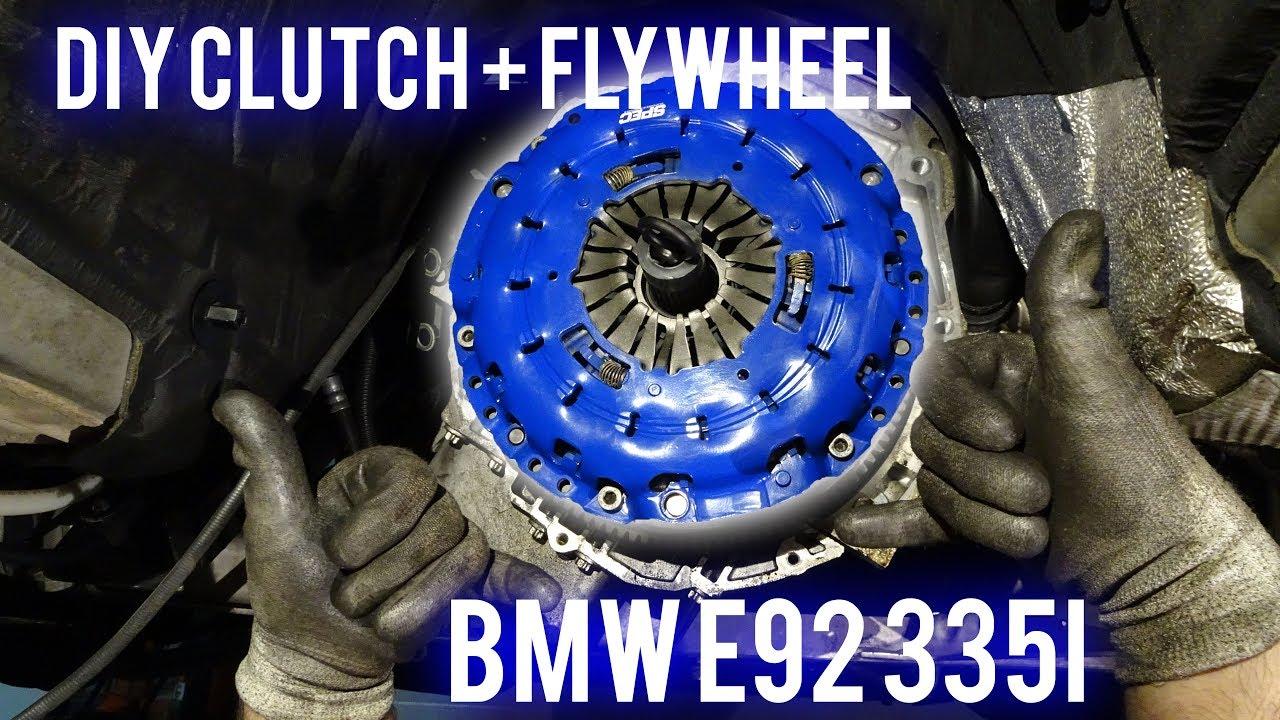 BMW 335i Spec Stage 3+ Clutch Install DIY!