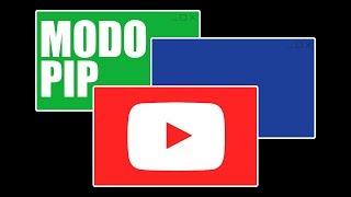 Activar los videos flotantes de YouTube sobre el escritorio