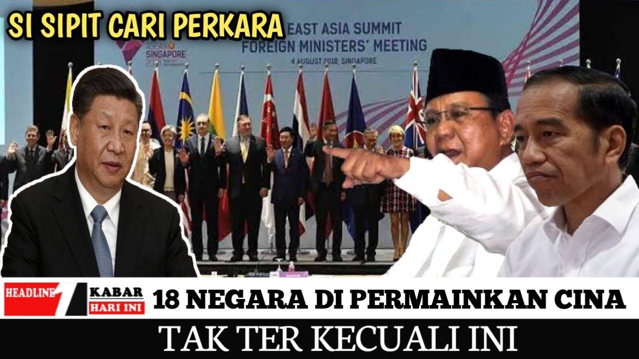 BERITA VIRAL ~ 18 NEGARA KPUNG CINA TERMASUK INDONESIA