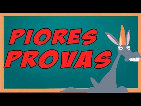 As Piores Provas #9 -  Canal ZeGraça3