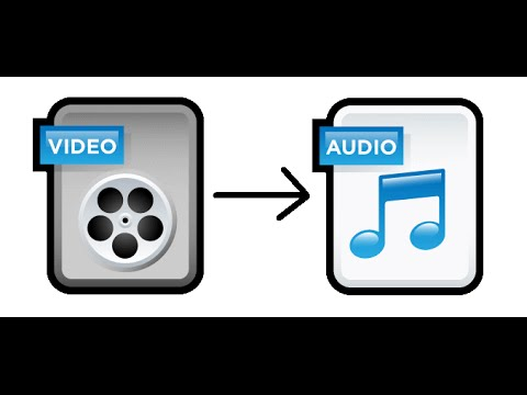 How To Convert A Video File To An Audio File