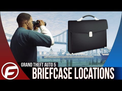 Grand Theft Auto 5 Hidden Packages Locations Guide Briefcase locations Easy Money GTAV GTA 5