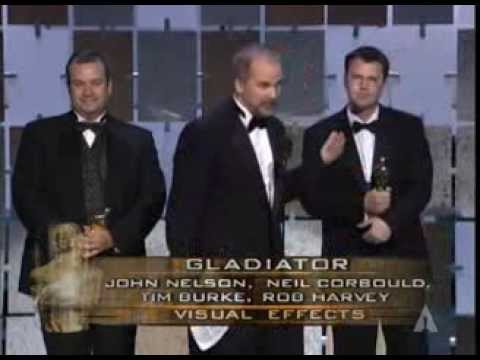 """Gladiator"" winning the Oscar® for Visual Effects"