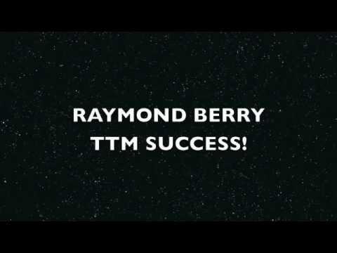 Raymond Berry TTM Success!  (Signed 3/1 in 8 Days!)