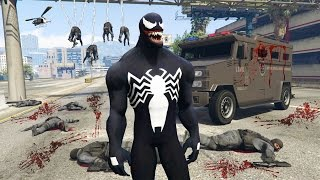 "Video GTA 5 Mods - SPIDERMAN ""VENOM"" MOD w/ WEB SHOOTER! GTA 5 Venom Mod Gameplay! (GTA 5 Mods Gameplay) download MP3, 3GP, MP4, WEBM, AVI, FLV Juli 2018"