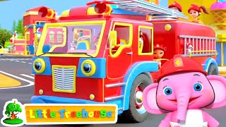 Wheels on the Fire Truck - Nursery Rhymes & Songs for Babies by Little Treehouse