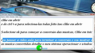 COMO CONVERTER MUSICA EM WMA PARA MP3 by Edson Tutoriais