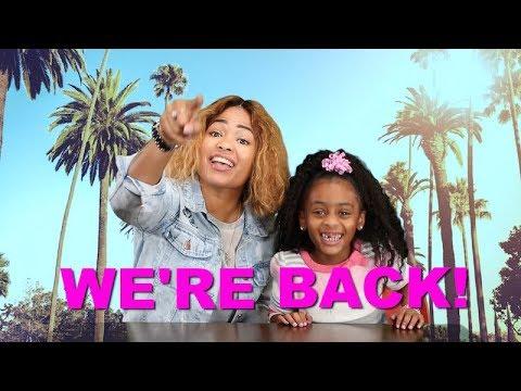 WE'RE BACK!!!!