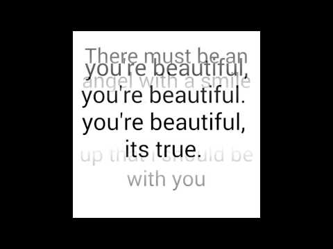 James Blunt-you're beautiful(lyrics)
