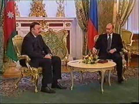 Visit of President of Azerbaijan Ilham Aliyev to Russia
