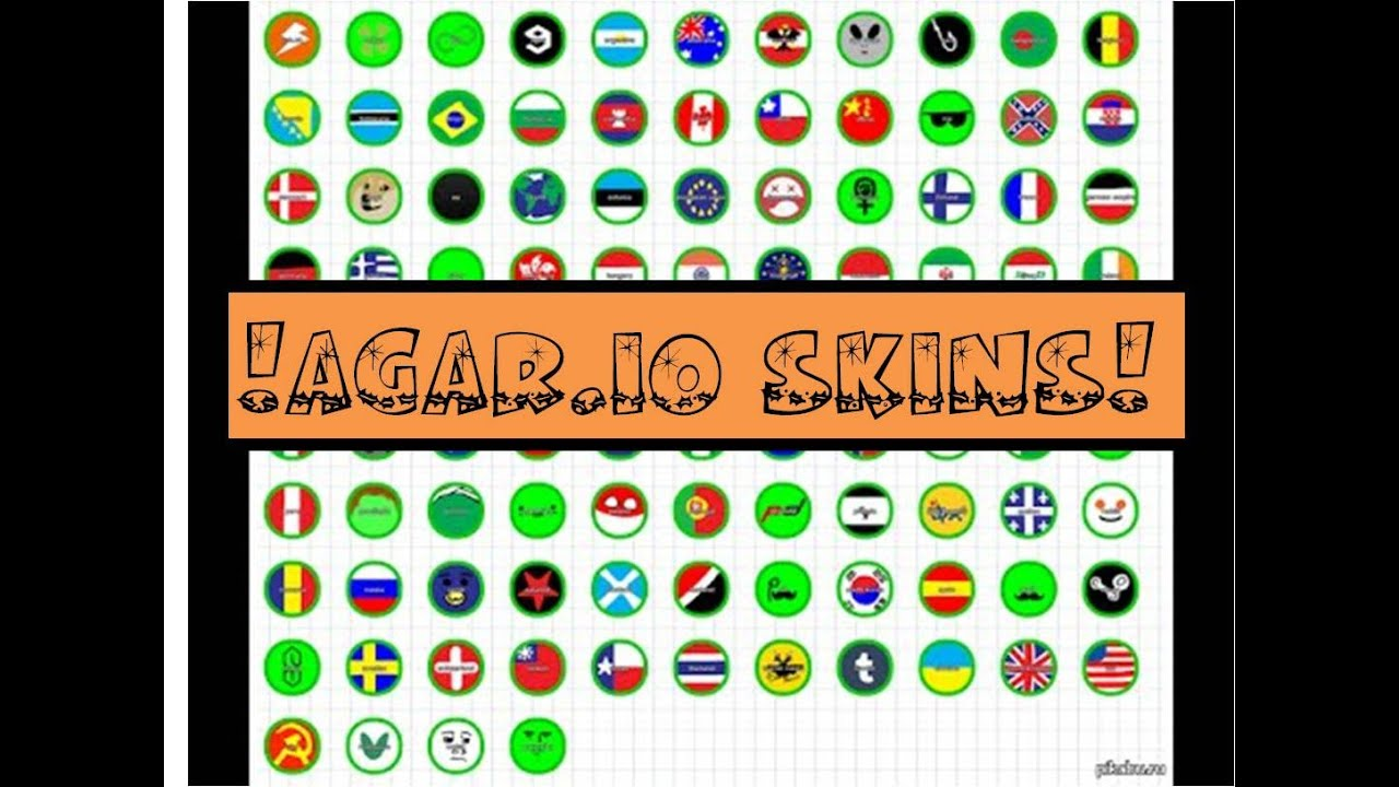 30+ Awesome Agar.io Skins & Names! - YouTube