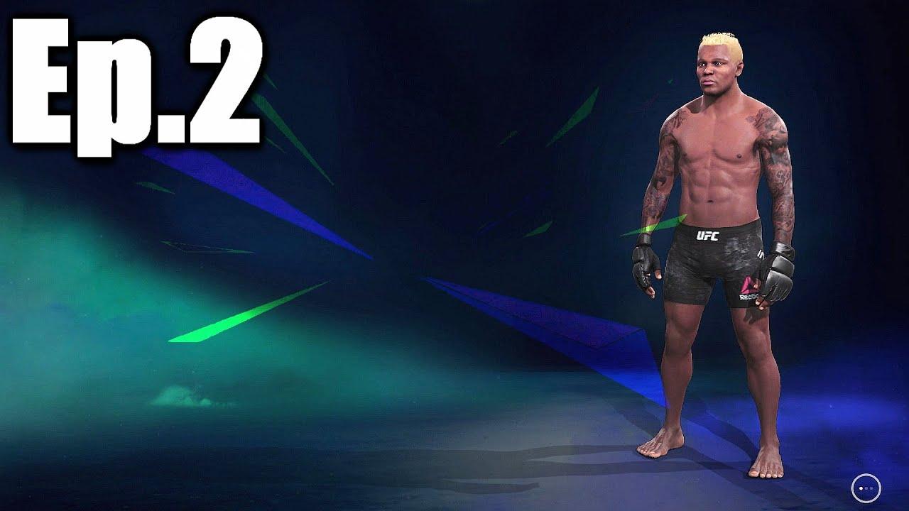 EA UFC 4 Career Mode Playthrough - Episode 2