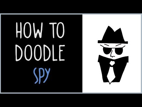 How to Draw a Spy (drawing tips)