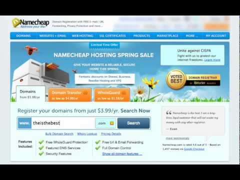 Best Way To Register and Manage Domain Names