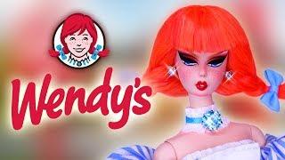 Custom Wendys Doll 🍔 [ FAST FOOD ART DOLL ]