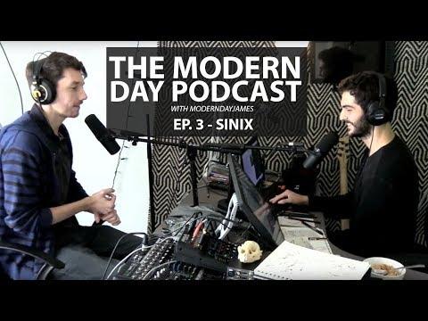 MODERN DAY PODCAST EP  3 – SINIX – Arts & Design Blog