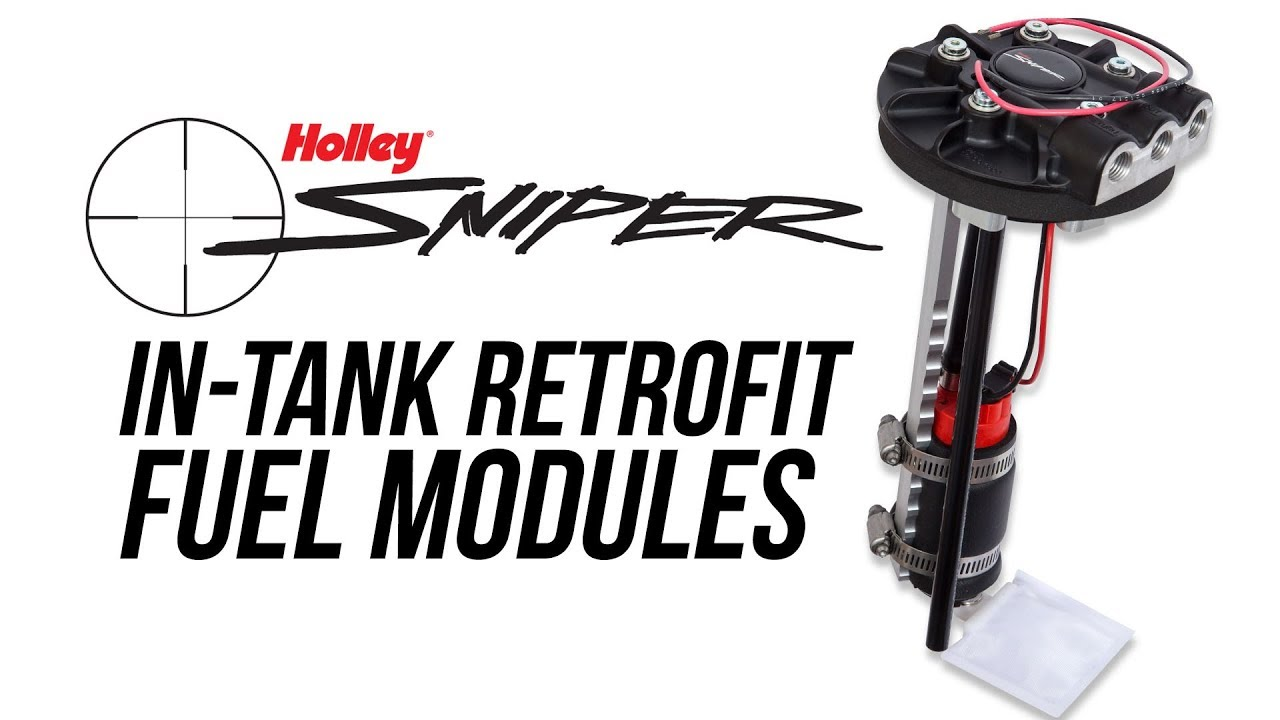 Holley Sniper In-Tank Retrofit Fuel Modules