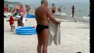 Drunk Russian On The Beach, Official Video