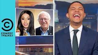 "Cardi B Ft. Bernie Sanders ""Social Security"" 