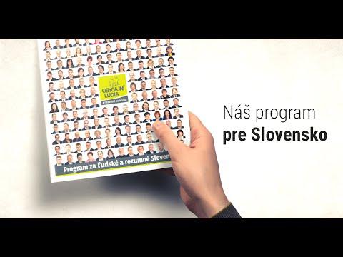 Program OĽaNO-NOVA: Ľudské a rozumné Slovensko