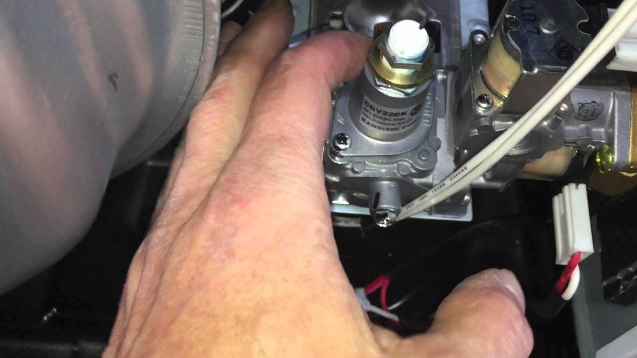 Appliance Gas Regulator Disassembling And Converting An Lg Dlgy Steam Gas Dryer From