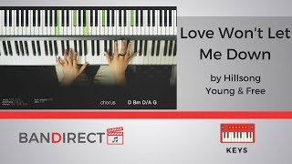 Love Won 39 T Let Me Down By Hillsong Y Amp F Acoustic  Piano Tutorial