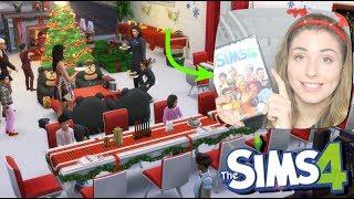 WIGILIA w The Sims 4  ROZDAJE GRĘ!