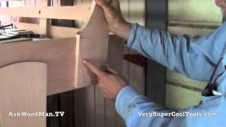 51 How To Build A Bed • T-nut Layout/install Into Headboard Slats