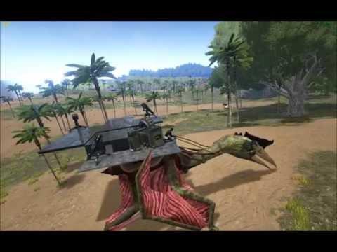 ARK: Survival Evolved: Quetzalcoatlus + Sattelplattform (Version 218.0)