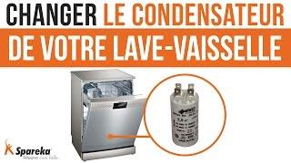 Comment changer le condensateur de votre lave-vaisselle ?