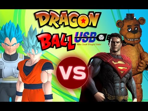 DRAGON BALL USB! Goku vs Majin Superman! Episode 1