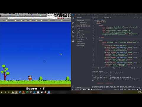 Duck Hunt Game (with HTML5 & CSS)