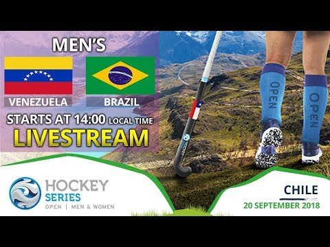 Venezuela v Brazil   2018 Men's Hockey Series Open   FULL MATCH LIVESTREAM