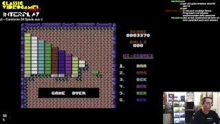 Classic-Videogames LIVE! INTERPLAY #22 – Alles über Breakout Teil 3 – C64 Breakout Spiele 1988