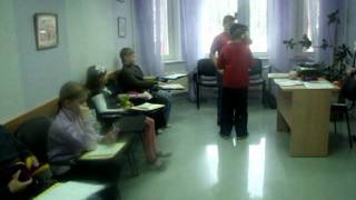2 Открытый урок английского языка  в школе