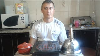 видео Индукционная плита на кухне: плюсы и минусы