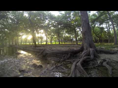 Wimberley Texas - Cypress Creek Cottages - 360 GoPro Time Lapse