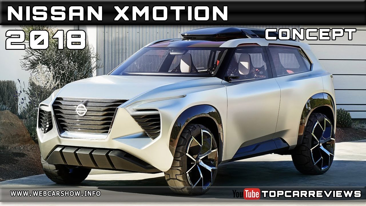 2018 Nissan Xmotion Concept Review Rendered Price Specs Release Date