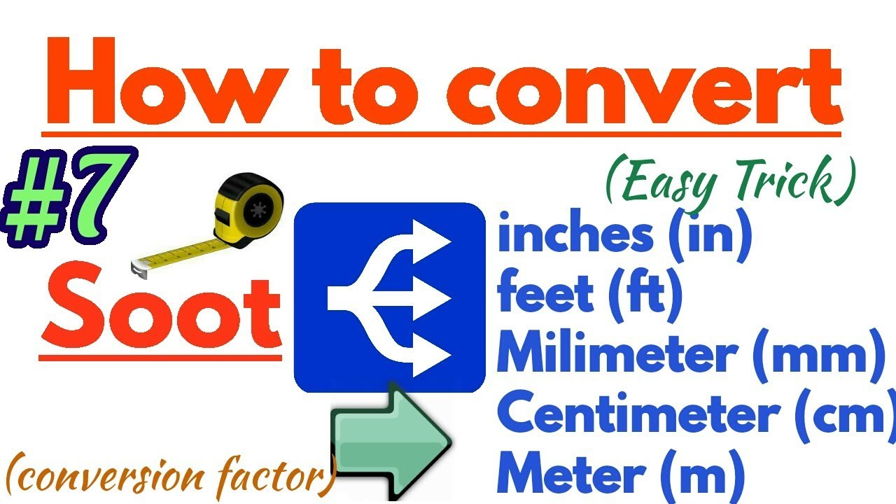 How To Convert Soot To Inch Feet Mm Cm And Meter In Length  E0 A4 B9 E0 A4 Bf E0 A4 82 E0 A4 A6 E0 A5 80