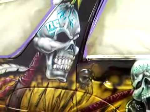 ffdd47f5167 the Redskins 4Runner that we painted   DEZ Customz - YouTube