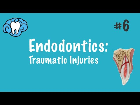 Endodontics | Traumatic Injuries | NBDE Part II