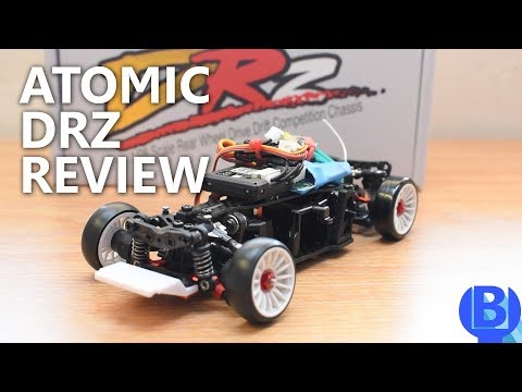 [Review] Atomic DRZ The 1st Ever Production 1/28 RWD Drift RC
