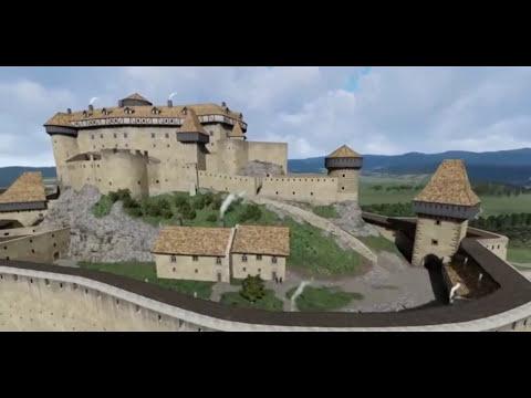 Spišský hrad v 17. storočí (3D animácia)
