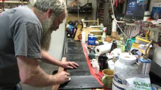 Removing Gorilla tape gĮue from Gold Hog mats